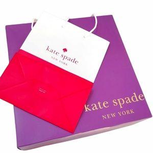 Kate Spade Large Gift Box / Storage Box & Gift Bag